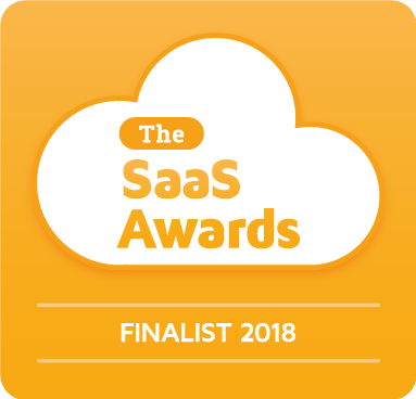 SaaS Awards Finalist Logo for Best SaaS Product for Small Business and SMBs