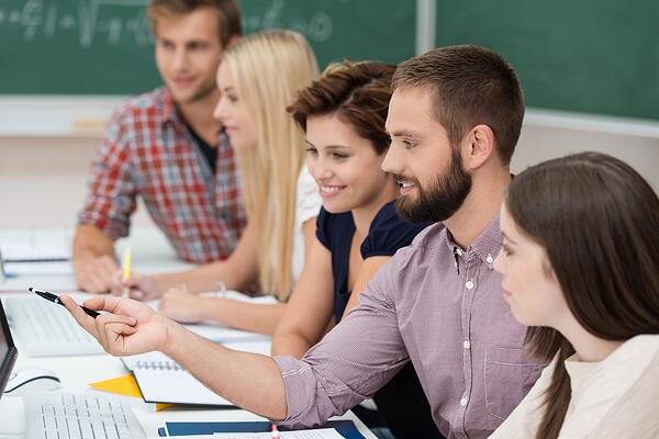 Group of adult learners in the classroom.