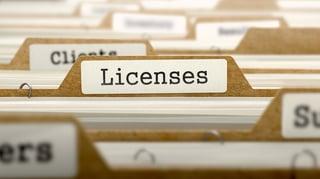 APWA Accreditation Licenses Folder.