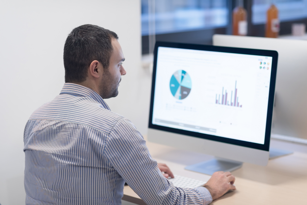 Looking at statistics from Performance Management Software