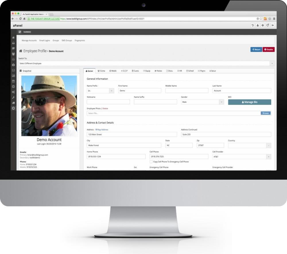 HRIS Software for Small Business inside look at the VAIRKKO platform