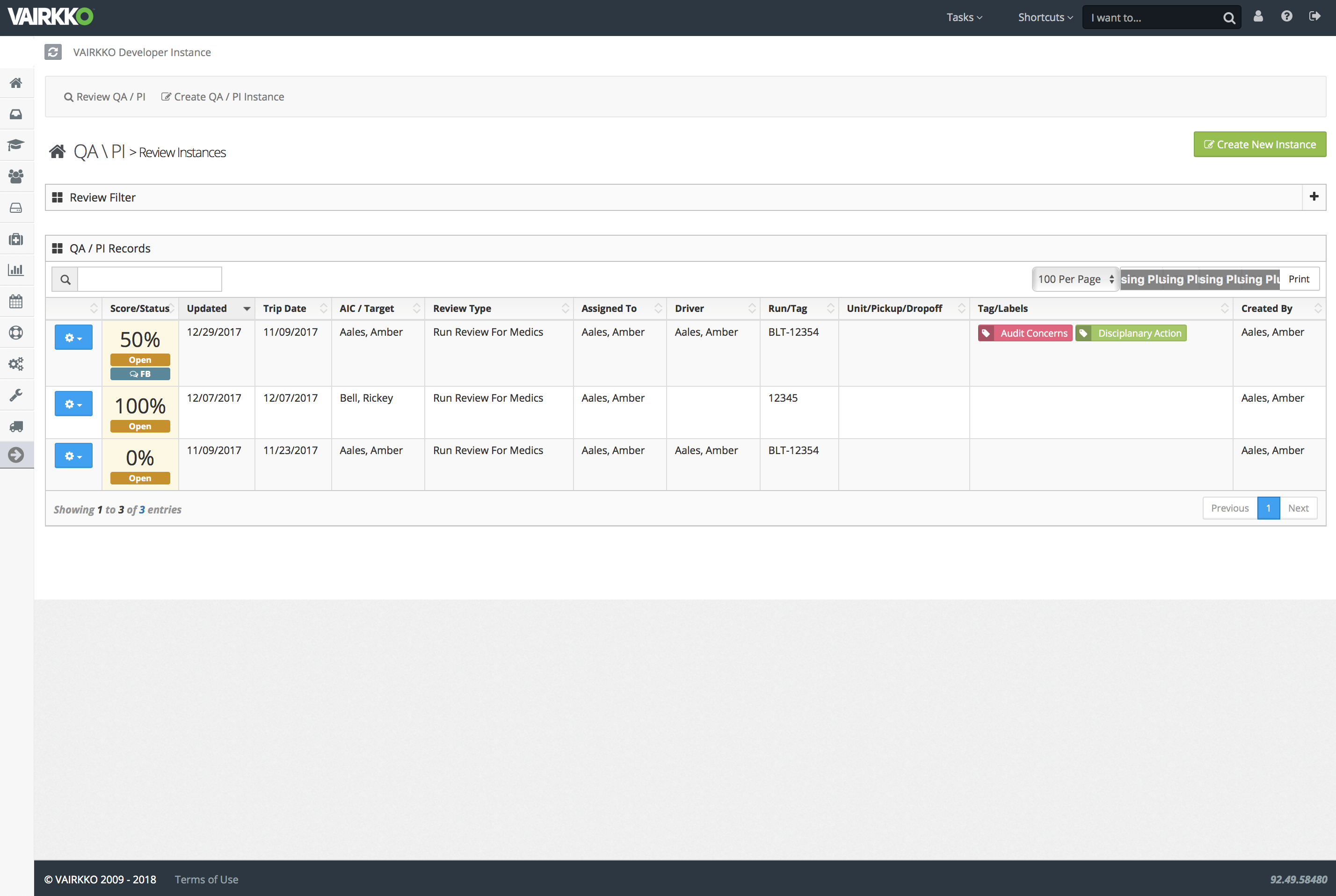 Admin-Side Quality Assurance Creation for Individual Contributors.